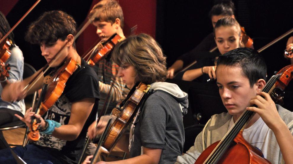 Projet Amy Obenski - élèves cordes
